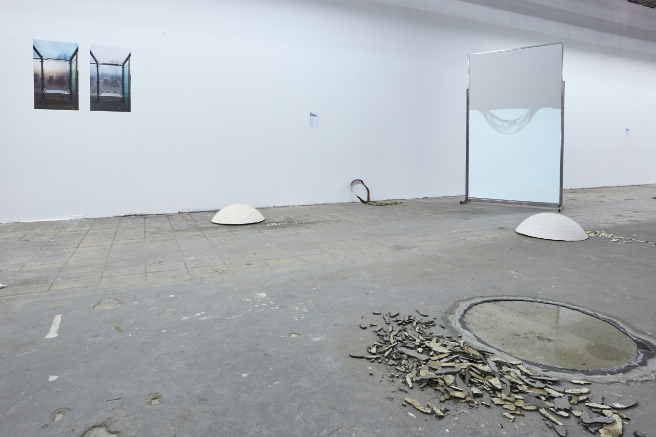 Gevoel van het geziene (2018). Installatie mixed media. 7,40 x 4,80 m.